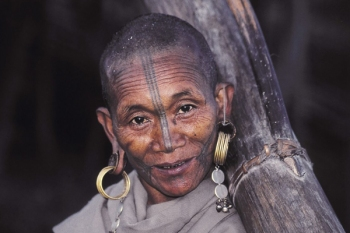 Nocte Tribal Woman With Facial Tattoo