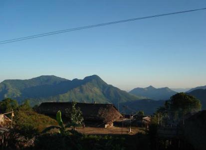 Nocte tribal village, Arunachal Pradesh