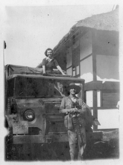 Frank Kingdon-Ward and wife Jean in Assam