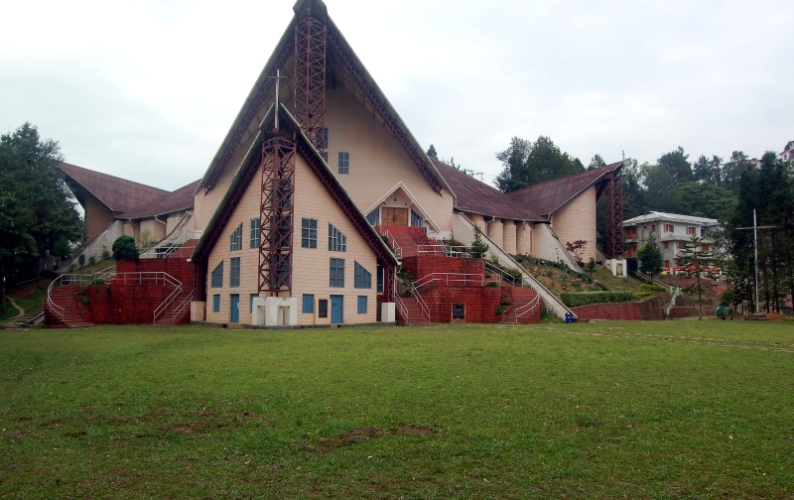 The Kohima Reconciliation Cathedral, Nagaland