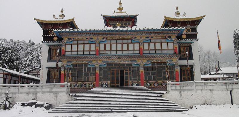 Khinmey Nyingma Monastery, Tawang, Arunachal Pradesh