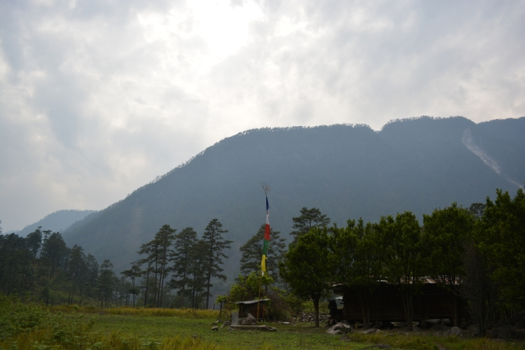 A Meyor Tribal House in Lohit Valley, Arunachal Pradesh