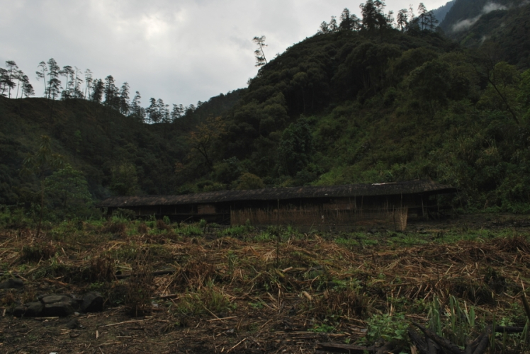 Mishmi Tribal Long House, Lohit Valley Trek, Arunachal Pradesh