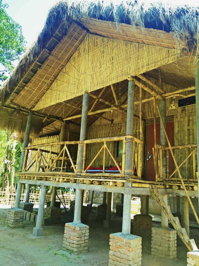 Elevated Stilt Tribal Architecture and Housing in Majuli Island, Assam, India