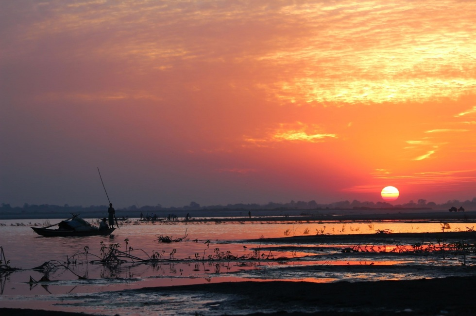 5. Sunset Majuli